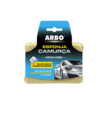 ARBO Esponja Camurça Especial Vidros