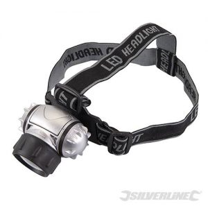 Silverline Luz para a cabeça LEDs