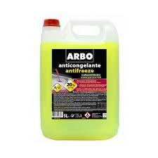 ARBO Anticongelante 20% Amarelo 5L