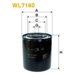 Filtro de óleo WIX ref.WL7160