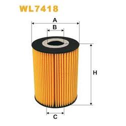 Filtro de óleo WIX ref.WL7418