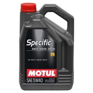 MOTUL Specific 505.01/502.00 5W-40 5L
