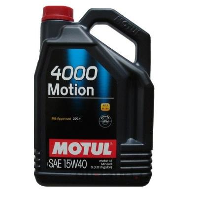 Motul 4000 Motion 15W40 5L