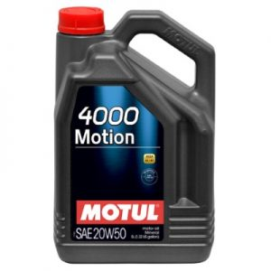 Motul 4000 Motion 20W50 5L
