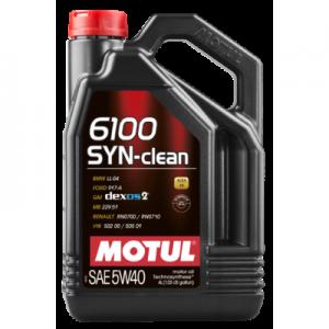 Motul 6100 SYN-Clean 5W40 C3 5L