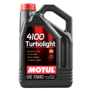 MOTUL 4100 Turbolight SAE 10W-40 5L