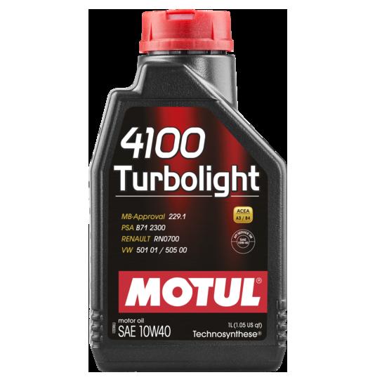 MOTUL 4100 Turbolight SAE 10W-40 1L