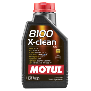 MOTUL 8100 X-clean C3 5W-40 1L