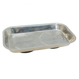 Silverline Prato magnético para peças 150x225mm