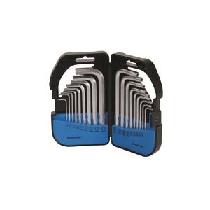 Silverline conjunto de 18 chaves sextavadas