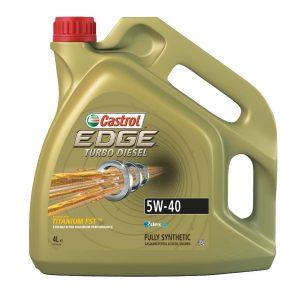 CASTROL EDGE TURBO DIESEL 5W40 4L